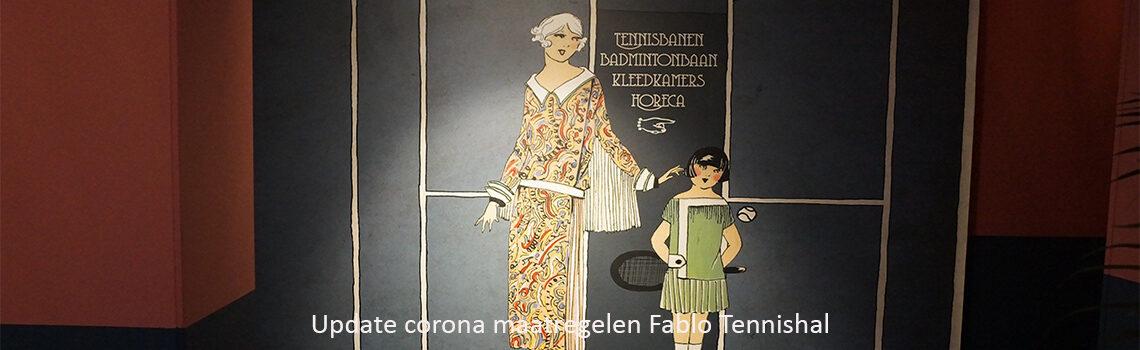 corona maatregelen fablo tennishal