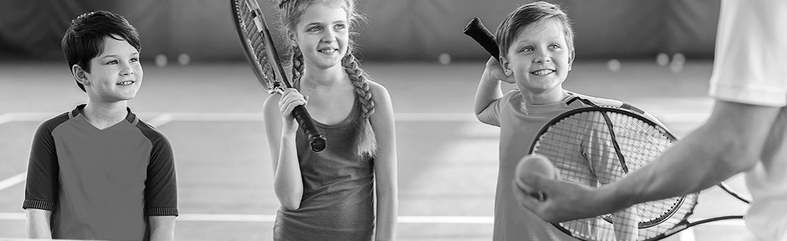 kinderfeestje tennis fablohal