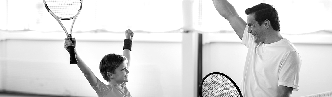 ouder-kind toernooi fablo tennishal
